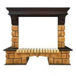 Портал Real-Flame Stone Brick 26 AO