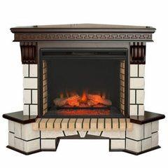 Электрокамин Real-Flame Stone Corner New 26 AO с очагом Epsilon 26 S IR