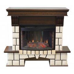 Электрокамин Real-Flame Stone New 25 AO с очагом Firefield 25 S IR