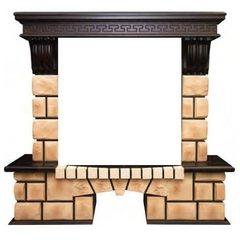 Портал Real-Flame Stone Brick 25/25,5 AO