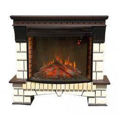 Электрокамин Real-Flame Stone New 33 с очагом Firespace 33 S IR