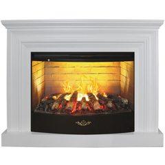 Электрический камин Real-Flame Weston 33 WT с очагом 3D FireStar 33