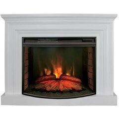 Электрический камин Real-Flame Weston 33 WT с очагом Firespace 33 S IR