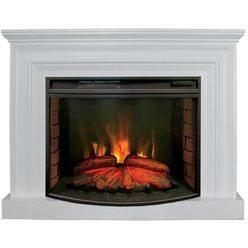 Широкий электрокамин Real-Flame Weston 33 WT с очагом Firespace 33 S IR