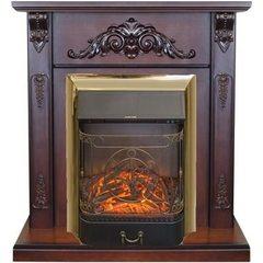Электрокамин Real-Flame Anita Corner AO с очагом Majestic s Lux BR