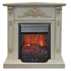 Электрокамин угловой Real-Flame Anita Corner угловой WT с очагом Majestic s Lux BL