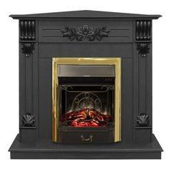 Электрокамин угловой Real Flame Ottawa Corner STD/EUG DN с очагом Majestic s Lux BR
