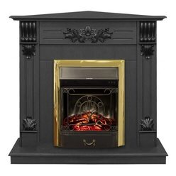 Электрический камин Real-Flame Ottawa Corner STD/EUG DN с очагом Majestic s Lux BR