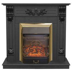 Электрический камин Real-Flame Ottawa STD/EUG DN с очагом Majestic s Lux BR