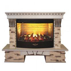 Электрический камин Real-Flame Sorento 33 WT c 3D FireStar 33