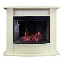Электрический камин Royal Flame Madison белый с очагом Dioramic 25 FX