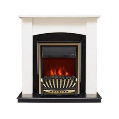 Электрокамин Royal Flame Baltimore с очагом Aspen Gold