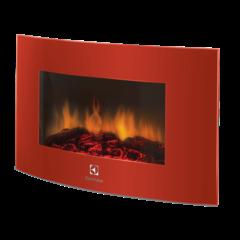 Настенный электрокамин Electrolux EFP/W -1200URLS красный