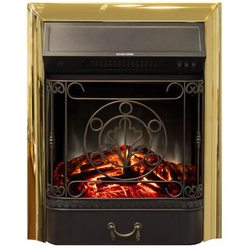 Электроочаг Majestic Lux Brass