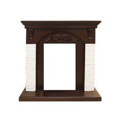 Портал для электрического камина Dimplex Bern мелкий сланец белый под классические очаги