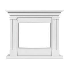 Деревянный портал Castello 30 Белый