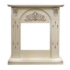 Портал Royal Flame Chester Wood под очаг Vision 18 LED FX алебастр