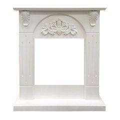 Портал Royal Flame Chester Wood под очаг Vision 18 LED FX белый