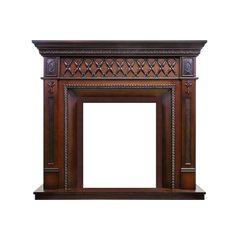 Портал Royal Flame Alexandria махагон коричневый антик