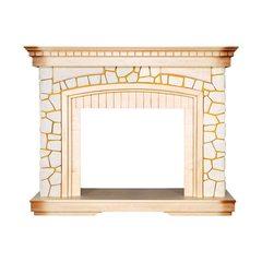 Портал Royal Flame Glasgow слоновая кость, патина