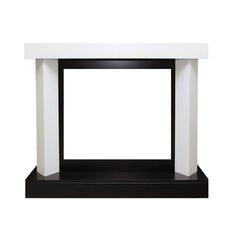 Портал Royal Flame Vancouver фактурный белый