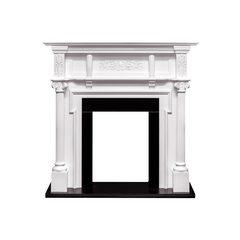 Портал Royal Flame Oxford белый под классические очаги