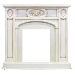 Портал Royal Flame Florence белый дуб