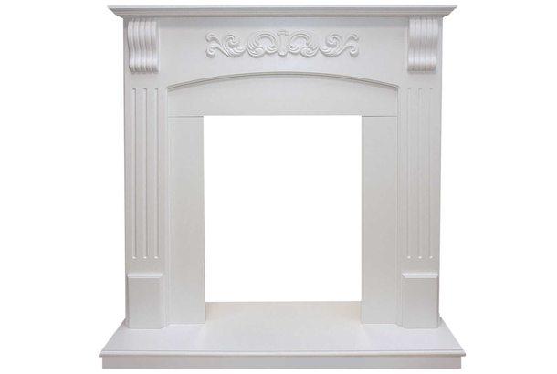 Портал Royal Flame Sorrento белый дуб