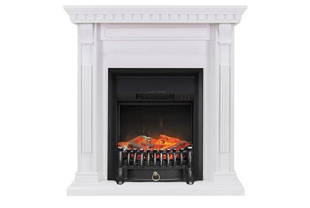 Электрокамин Royal Flame Orlean с очагом Fobos FX Black