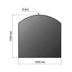 Лист напольный сталь 1000*1000*2 R641