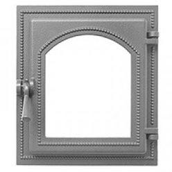 Дверка ВЕЗУВИЙ каминная 220 (не крашенная, без стекла)
