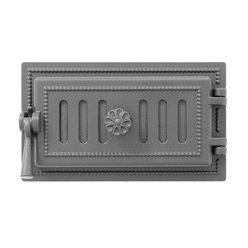 Дверка ВЕЗУВИЙ поддувальная 236 (Антрацит)