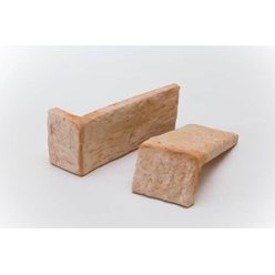 Плитка Терракот Рваный камень Мини угловая*