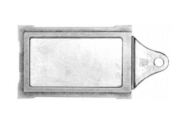 Задвижка каминная ЗВ-3 (240х130мм) (Б)
