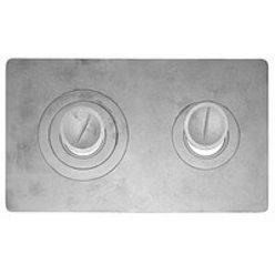 Плита 2х-конфорочная П2-7 (Р) 510х340
