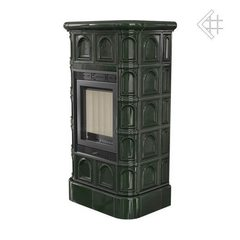 Печь-камин Blanka 8 kW stove зеленый