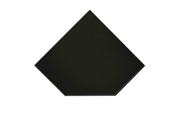 Предтопочный лист VPL021-R9005, 1100х1100 черный