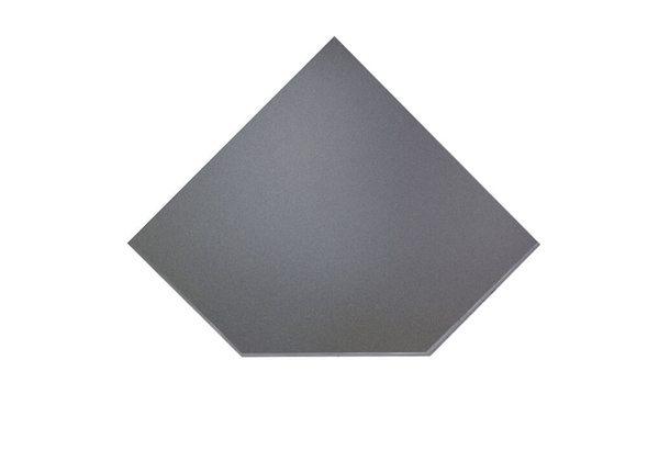 Предтопочный лист VPL021-R7010, 1100х1100 серый