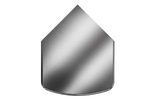 Предтопочный лист VPL041-INBA, 1000 х 800, зеркальный