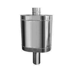 Натрубный бак для воды D115, нерж. 304, 48 л. (Вулкан)