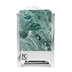 Электропечь Карина в камне талькохлорит вертикальный 10 кВт 380В