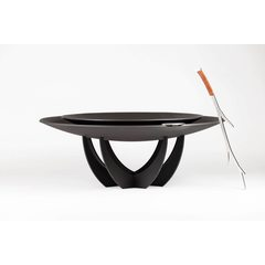Чаша для костра Double Steel Cup 850 black/black & Base