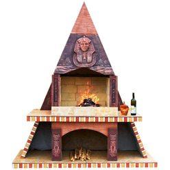 Модульная печь барбекю Печь барбекю №12 Египетская пирамида