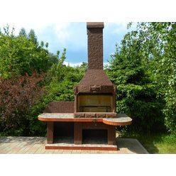 Модульная печь барбекю Печь барбекю №14