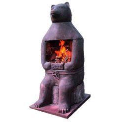 Модульная печь барбекю Печь барбекю №17 Медведь