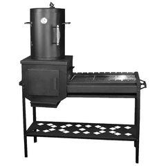 Мангал с коптильней Профи ST3, 3 мм