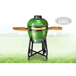 Керамический гриль Start Grill 18 зеленый