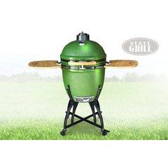 Керамический гриль Start Grill 22H зеленый