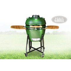 Керамический гриль Start Grill 22 зеленый