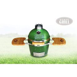 Керамический гриль Start Grill 12 зеленый